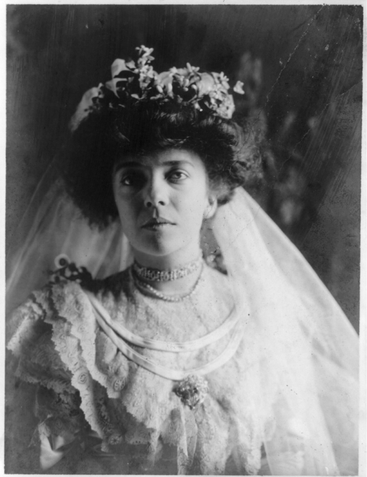 Alice Roosevelt As A Bride 1906 Costume Cocktail