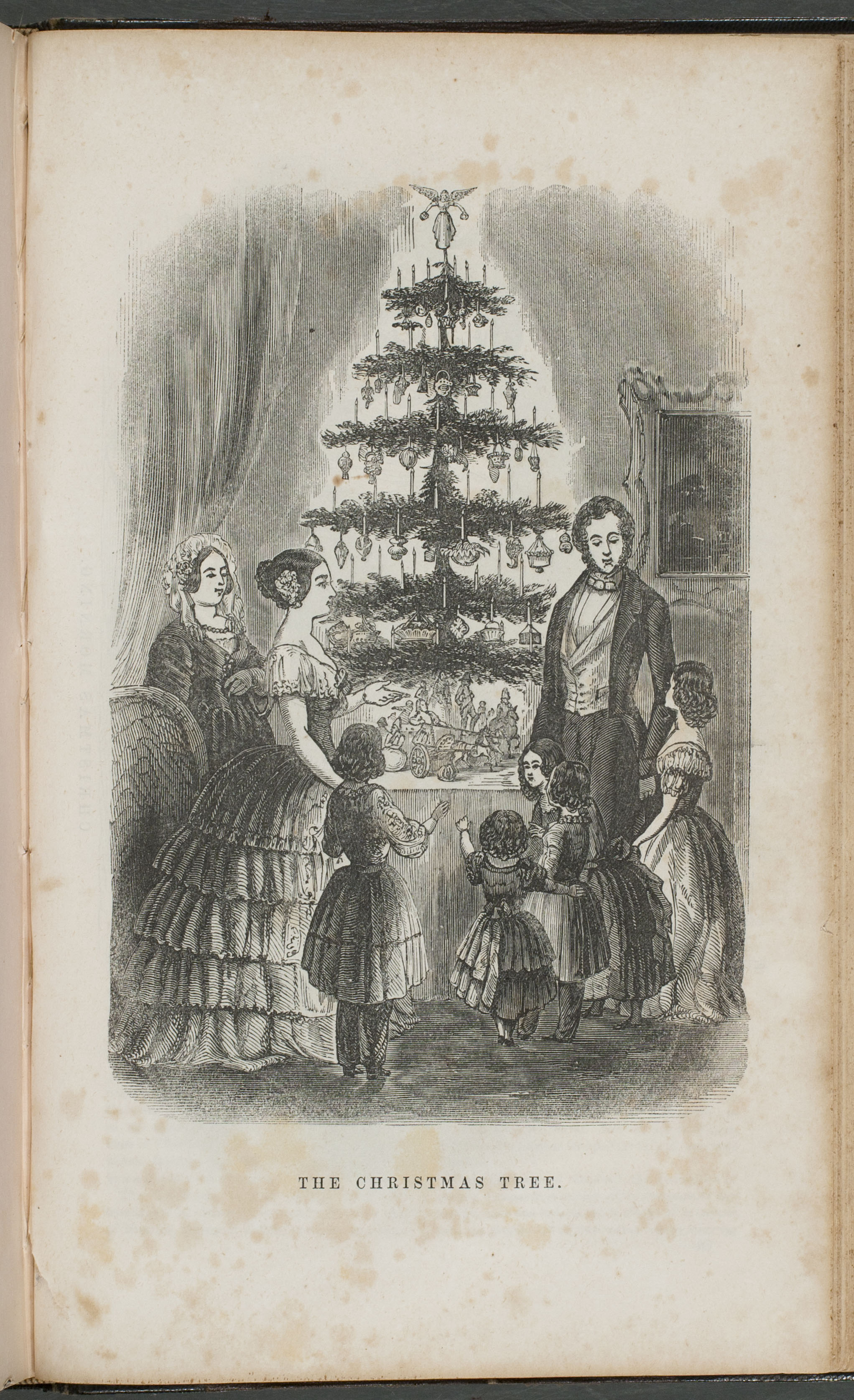 Christmas Tree At Windsor Castle 1848 Costume Cocktail