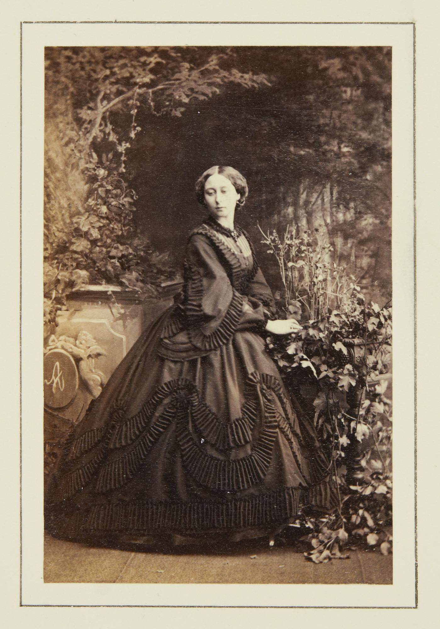 Princess Alice Maud Mary, daughter of Queen Victoria, 1861 ...
