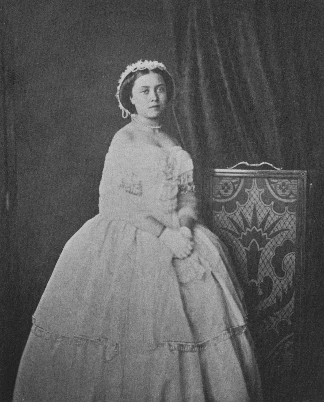 Victoria The Princess Royal On Her 16th Birthday 1856