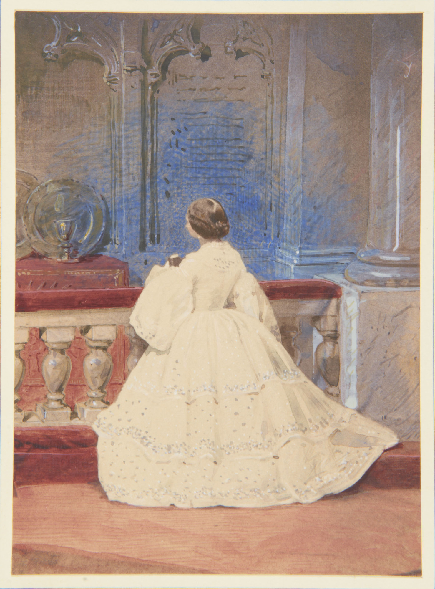 Princess Alice At Her Confirmation 1859 Costume Cocktail