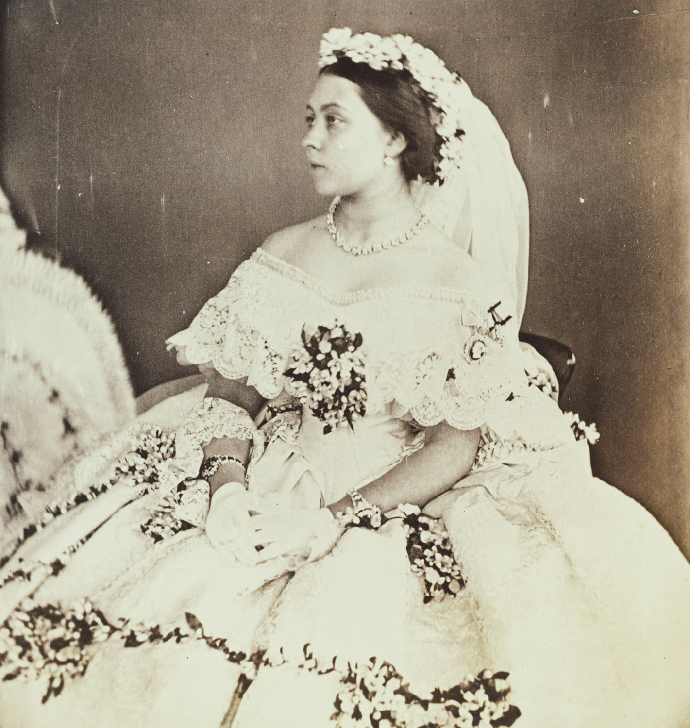 Victoria The Princess Royal In Her Wedding Dress 25th
