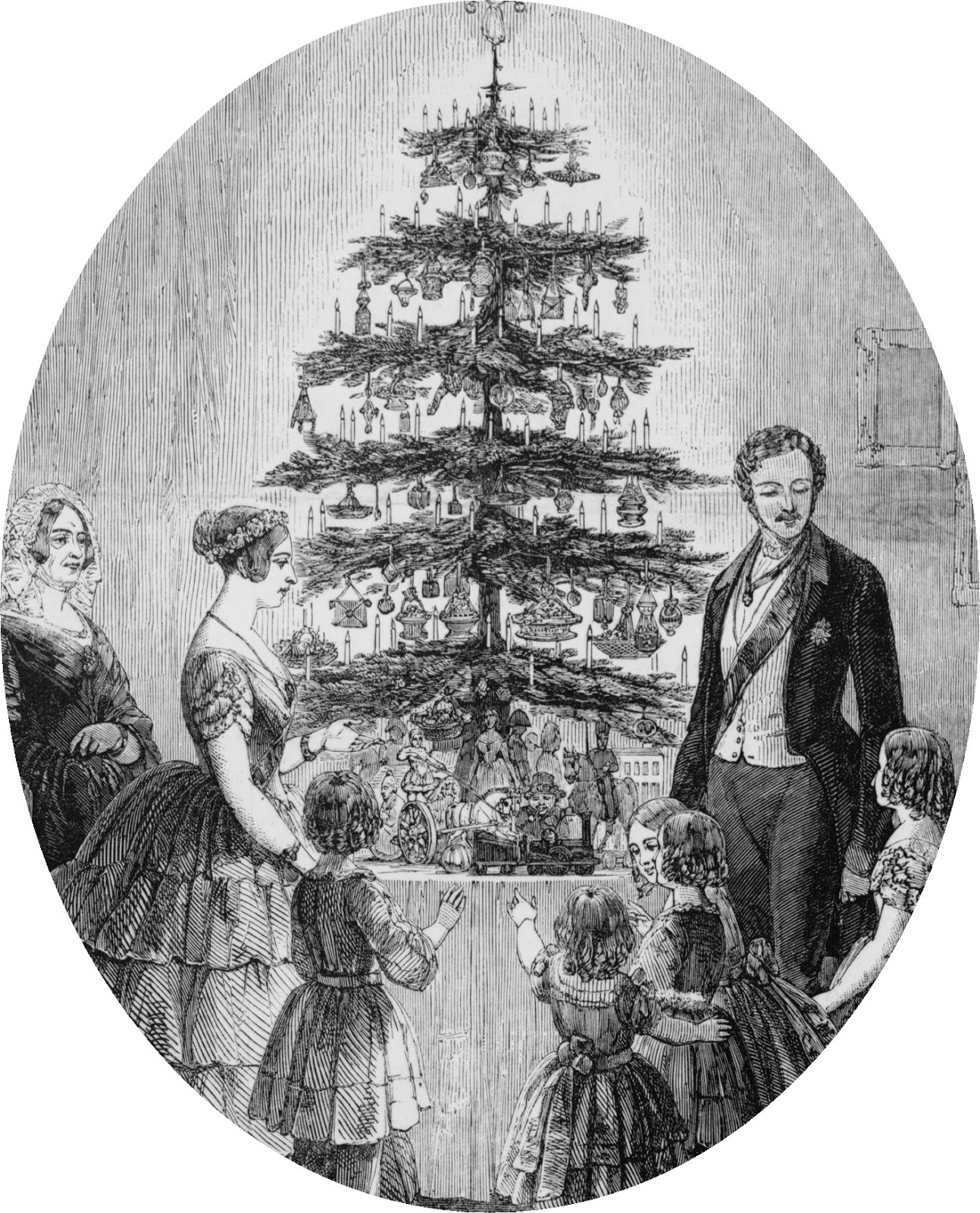 History Of Christmas Tree.Christmas Tree At Windsor Castle 1848 Costume Cocktail