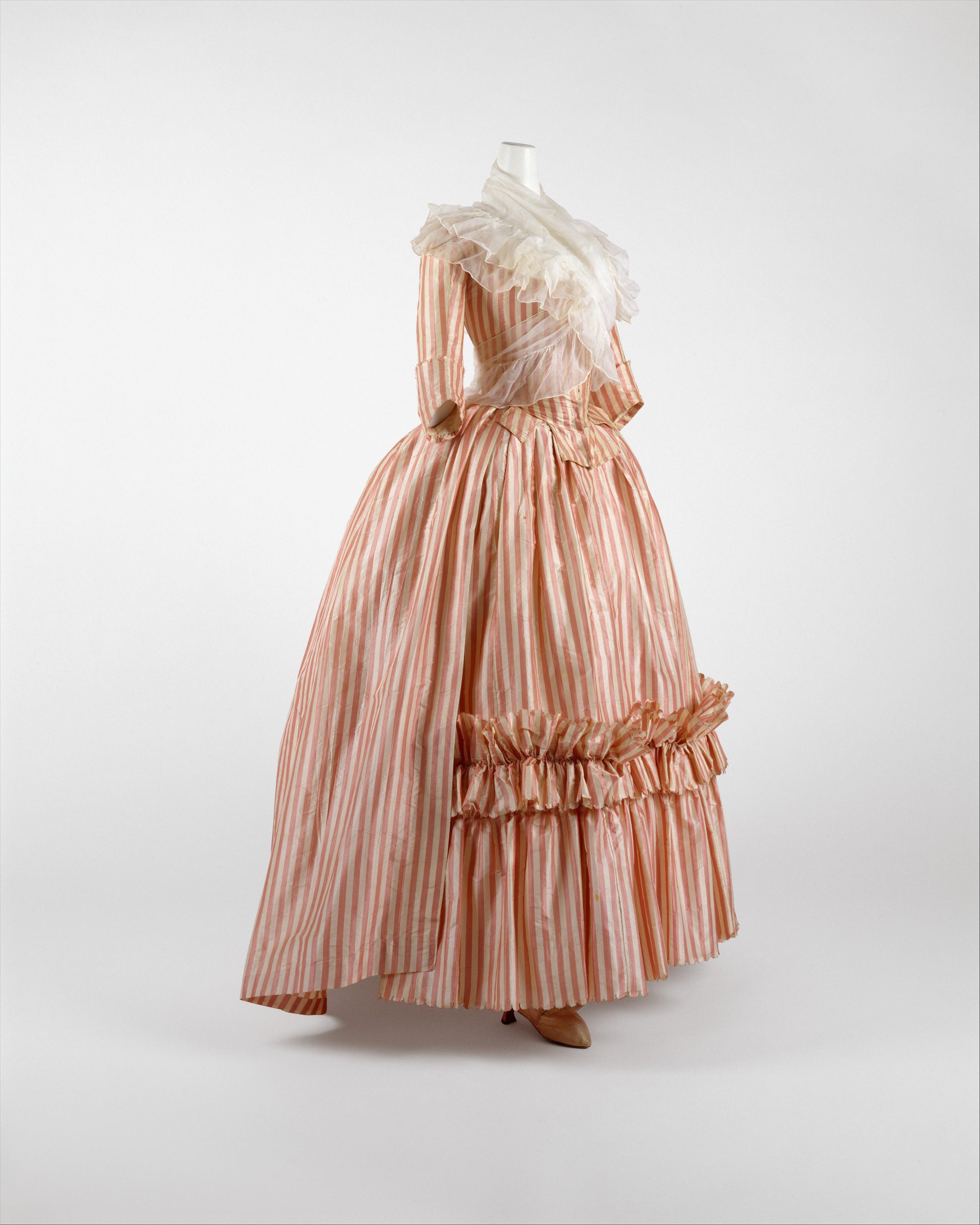 Robe A La Francaise: Robe à L'Anglaise, 1785–87