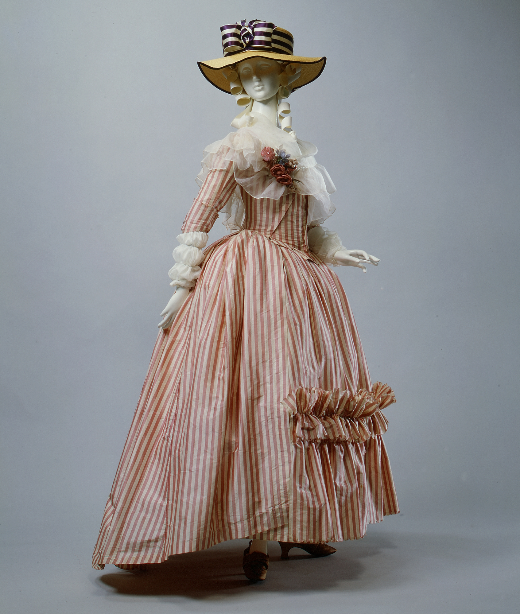 Robe 224 L Anglaise 1785 87 Costume Cocktail