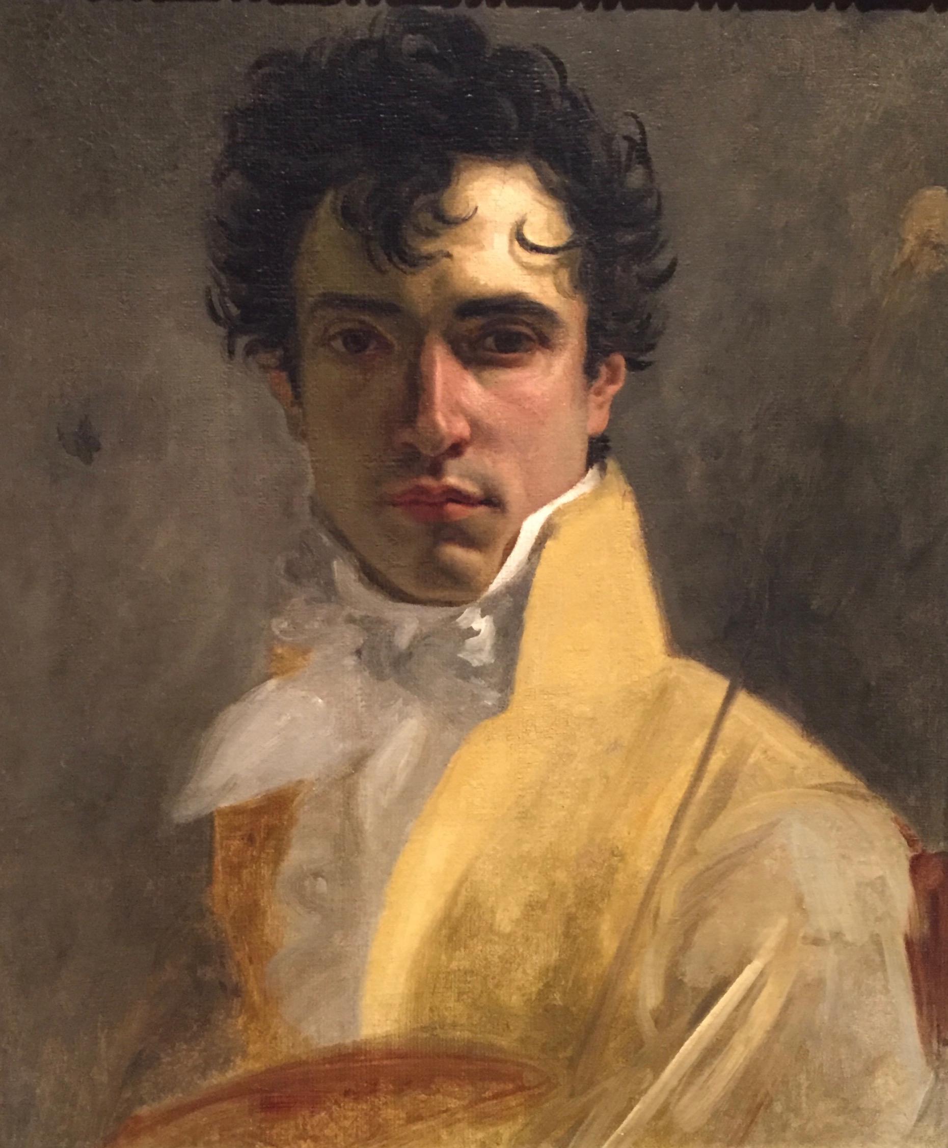 Man In Yellow, 19th Century