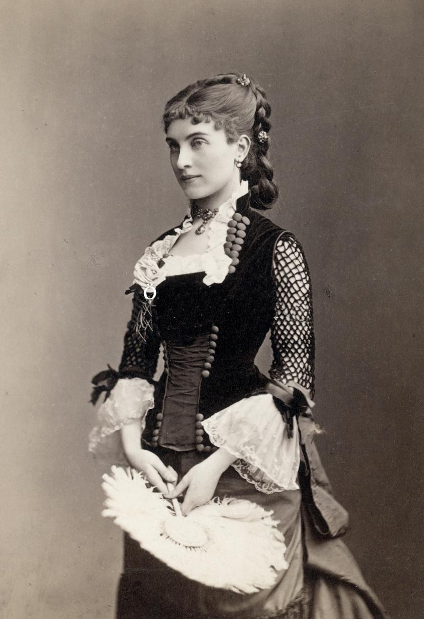 Johanna Von Klinkosch Ca 1870s Costume Cocktail
